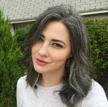 getting grey hair